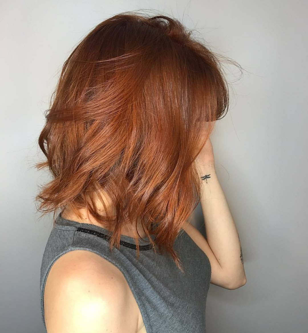 Featured Photo of Auburn Medium Hairstyles