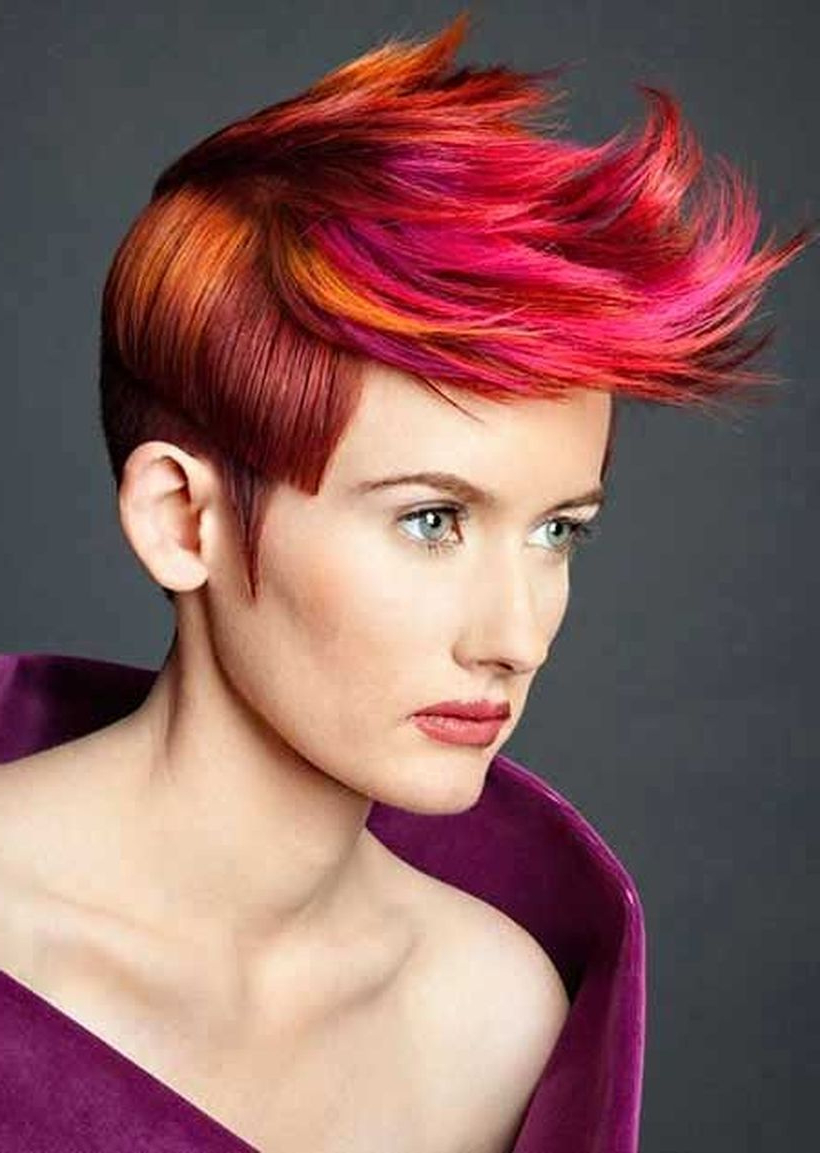 Newest Crazy Medium Hairstyles Throughout 99 Short To Medium Hairstyles Luxury 100 Crazy Hair Colour Ideas For (View 18 of 20)