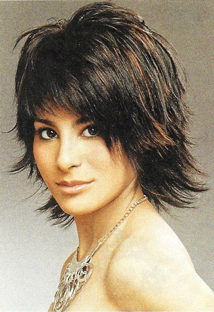 Newest Cute Choppy Shaggy Medium Haircuts Regarding Pretty Short Shag Haircuts For Womens (View 14 of 20)
