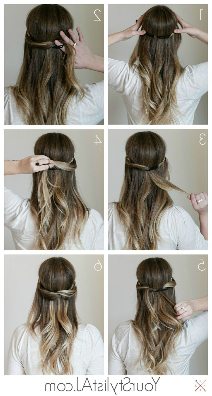 Newest Cute Medium Hairstyles With Headbands Inside 7 Super Cute Everyday Hairstyles For Medium Length – Hair World Magazine (View 15 of 20)