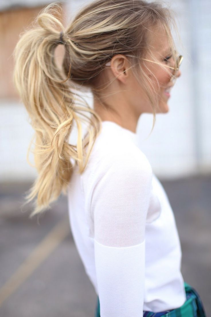 Newest Effortlessly Tousled Hairstyles For Hair Styles 2017/ 2018 A Loose, Tousled Ponytail Looks Effortlessly (View 2 of 20)