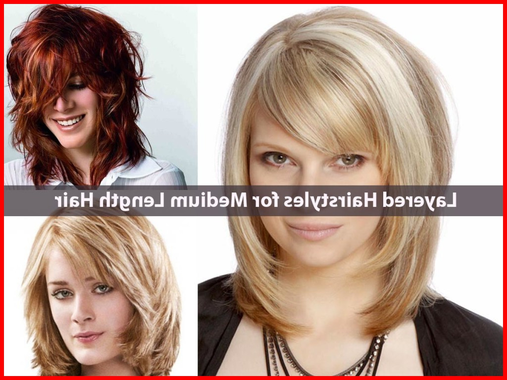 Newest Medium Haircuts Layers And Side Bangs With Regard To Hairstyles For Medium Length Hair With Bangs And Layers (View 18 of 20)