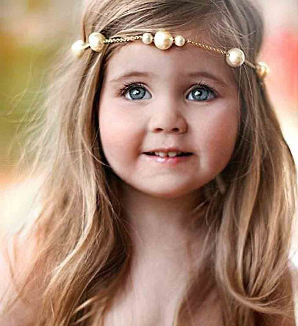 Newest Medium Haircuts With Headbands Regarding Little Girls Hairstyles For Eid 2018 In Pakistan In  (View 16 of 20)