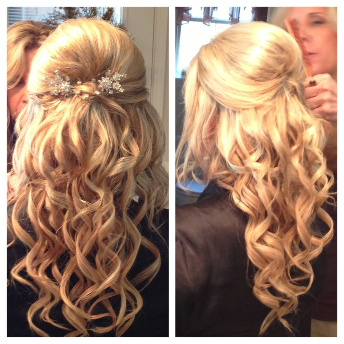 Newest Medium Hairstyles For A Ball In Bump With Curls! (View 9 of 20)
