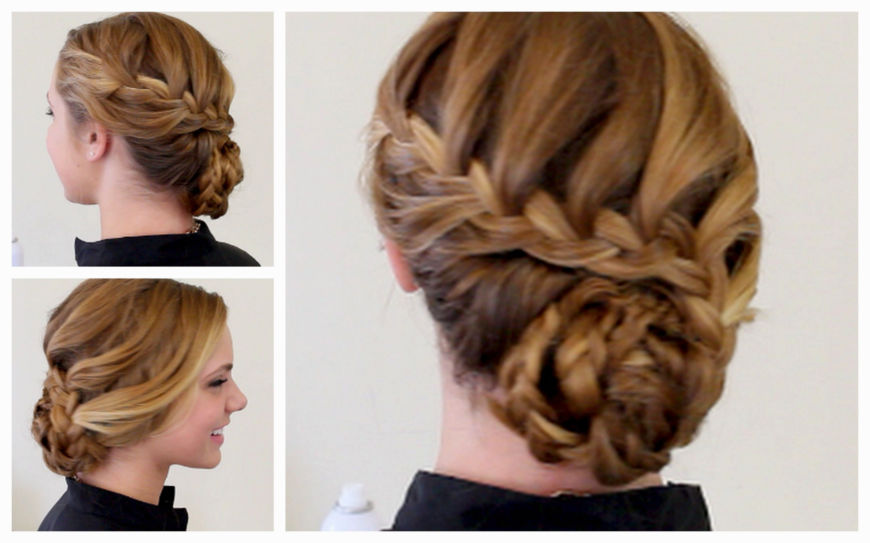 Newest Medium Hairstyles For Prom Updos Throughout Prom Hairstyles For Medium Hair – Leymatson (View 11 of 20)