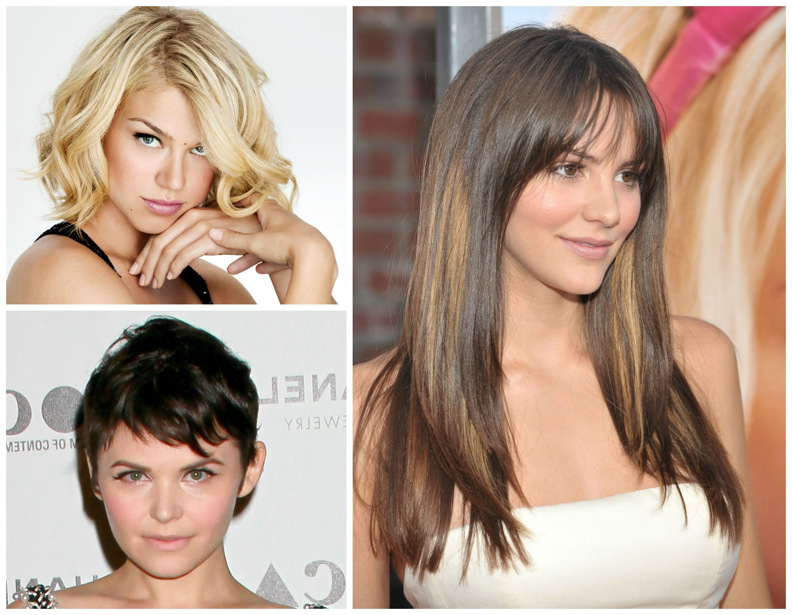 Newest Medium Hairstyles With Bangs For Oval Faces Intended For How To Choose A Haircut That Flatters Your Face Shape (View 13 of 20)