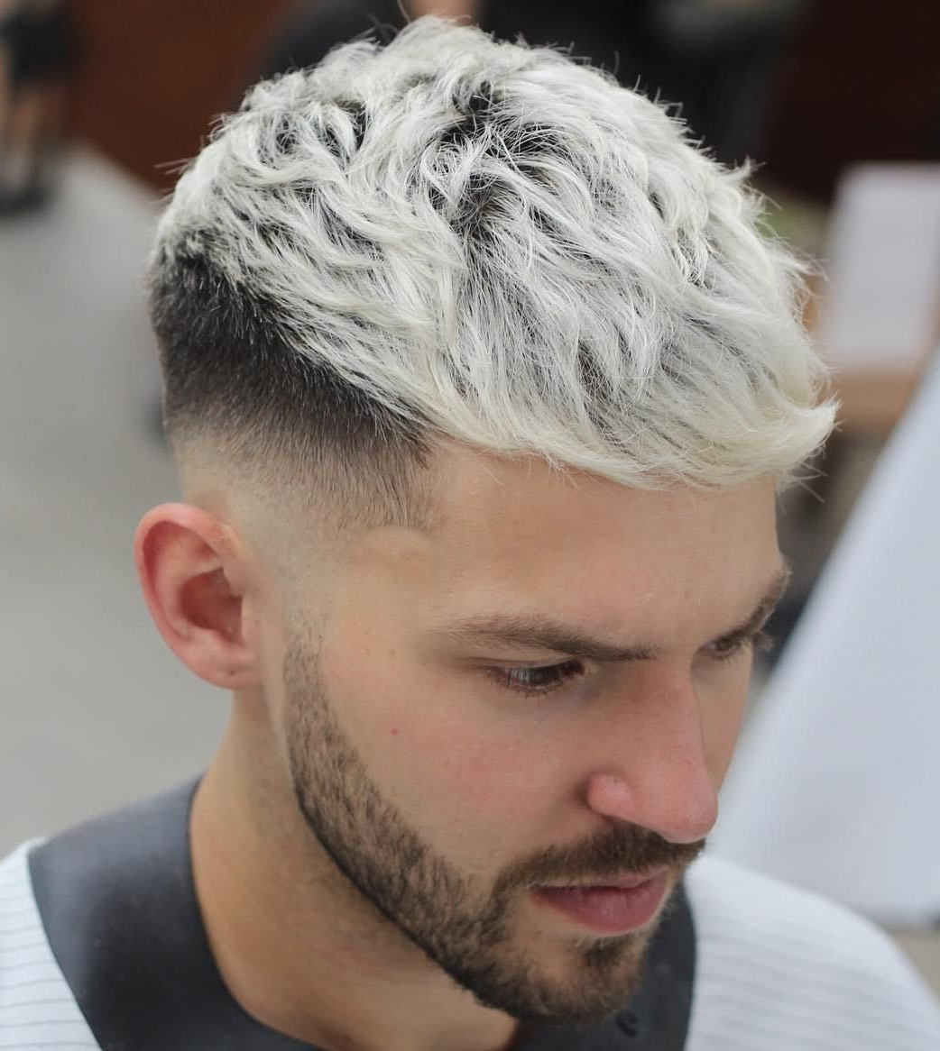 Newest Mohawk Hairstyles With Length And Frosted Tips With Regard To 20 Stylish Men's Hipster Haircuts (View 13 of 20)