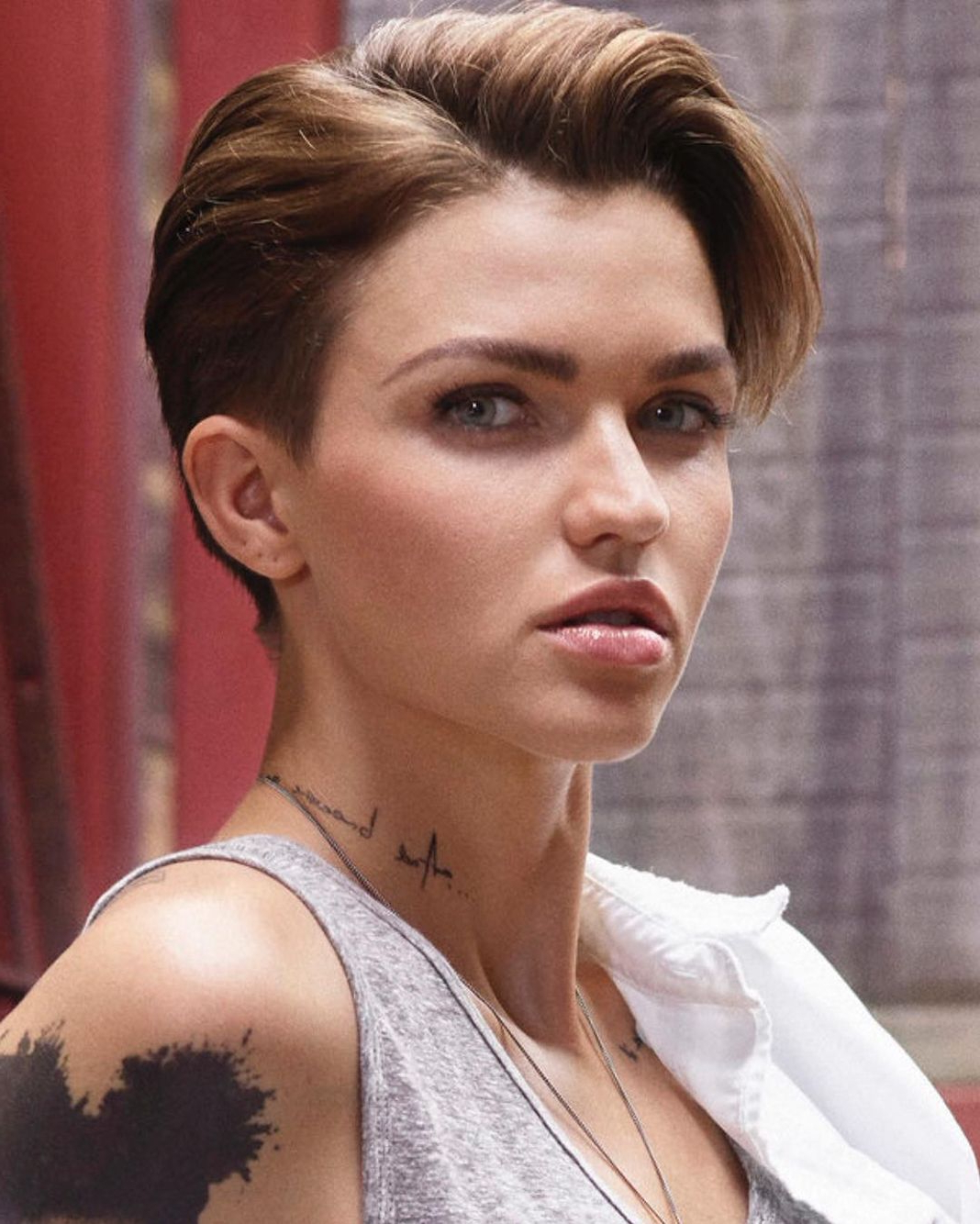 Newest Ruby Rose Medium Hairstyles With Regard To Ruby Rose – Www (View 12 of 20)