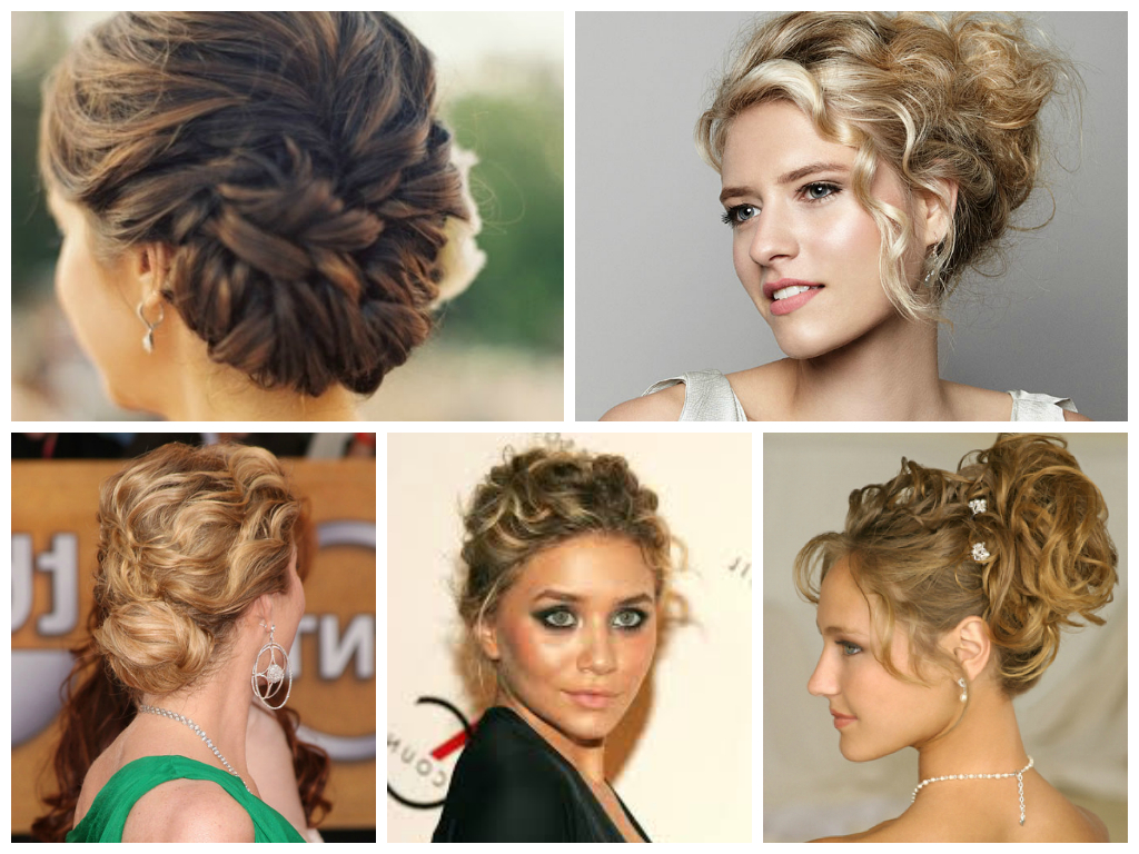 Newest Special Occasion Medium Hairstyles In Curly Updo For Special Occasion (View 9 of 20)