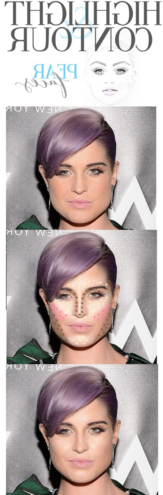 Pear Face Shape? You Have A ''difficult'' Shape! – The Haircut Web With Latest Medium Hairstyles For Pear Shaped Faces (View 10 of 20)