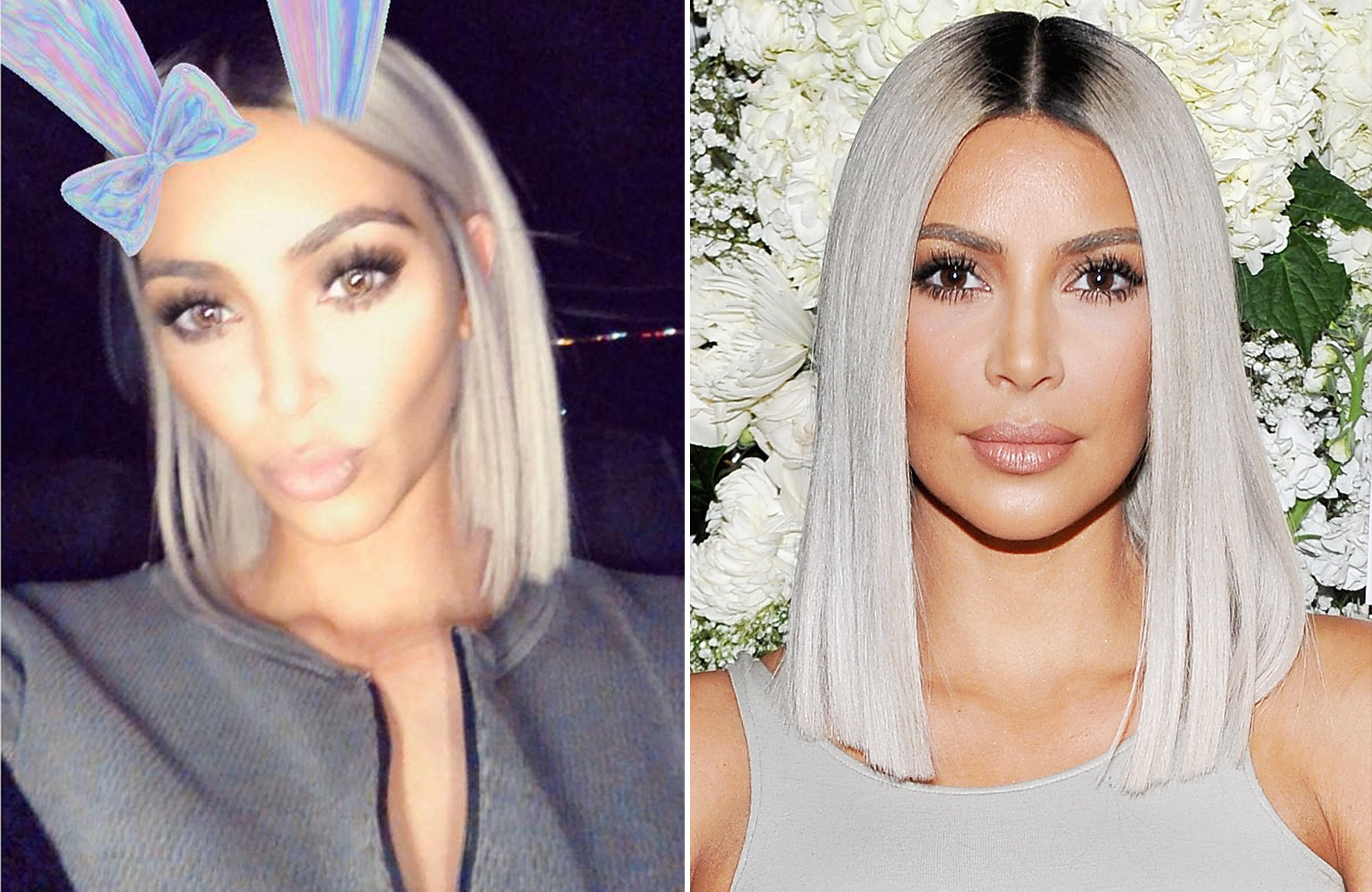 People With Best And Newest Kim Kardashian Medium Haircuts (View 17 of 20)