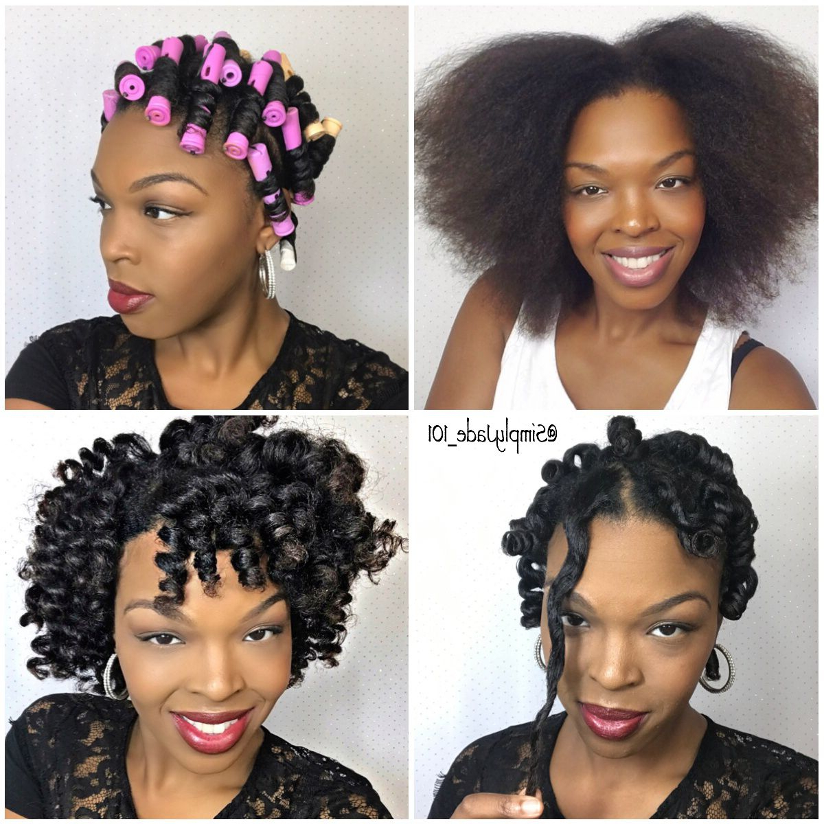 Perm Rod Set Pictorial For Short/medium Length Hair! Full Tutorial Within Latest Natural Medium Haircuts (View 17 of 20)