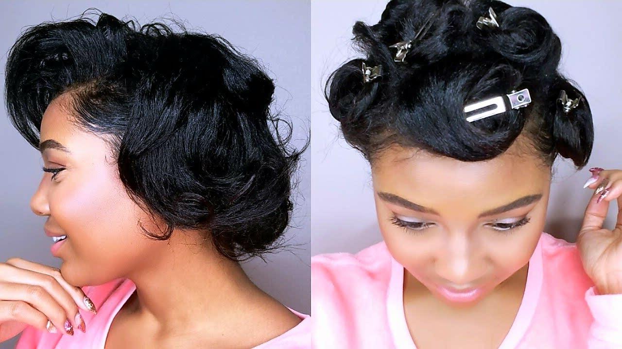 Pin Curls Tutorial (View 18 of 20)