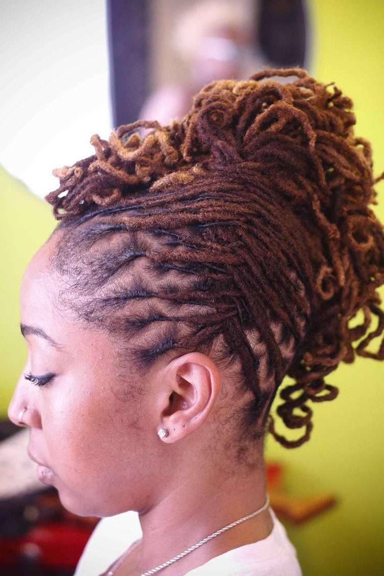 Pinpamela Ruby B On Lock Hair Styles In (View 18 of 20)
