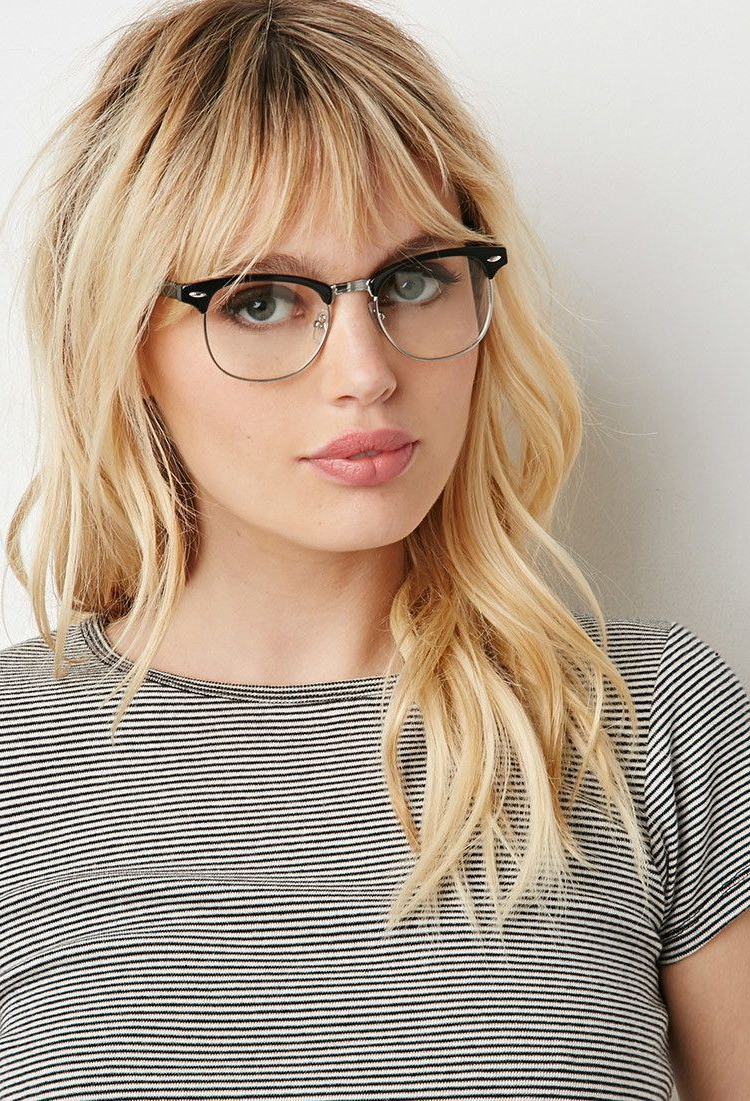 Pinterest For Preferred Medium Haircuts For Glasses Wearer (View 16 of 20)