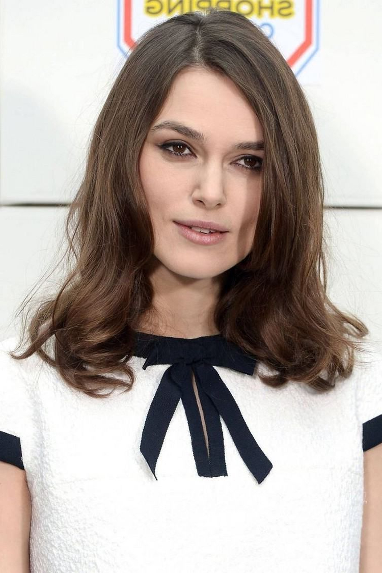 Pinterest For Trendy Keira Knightley Medium Haircuts (View 17 of 20)