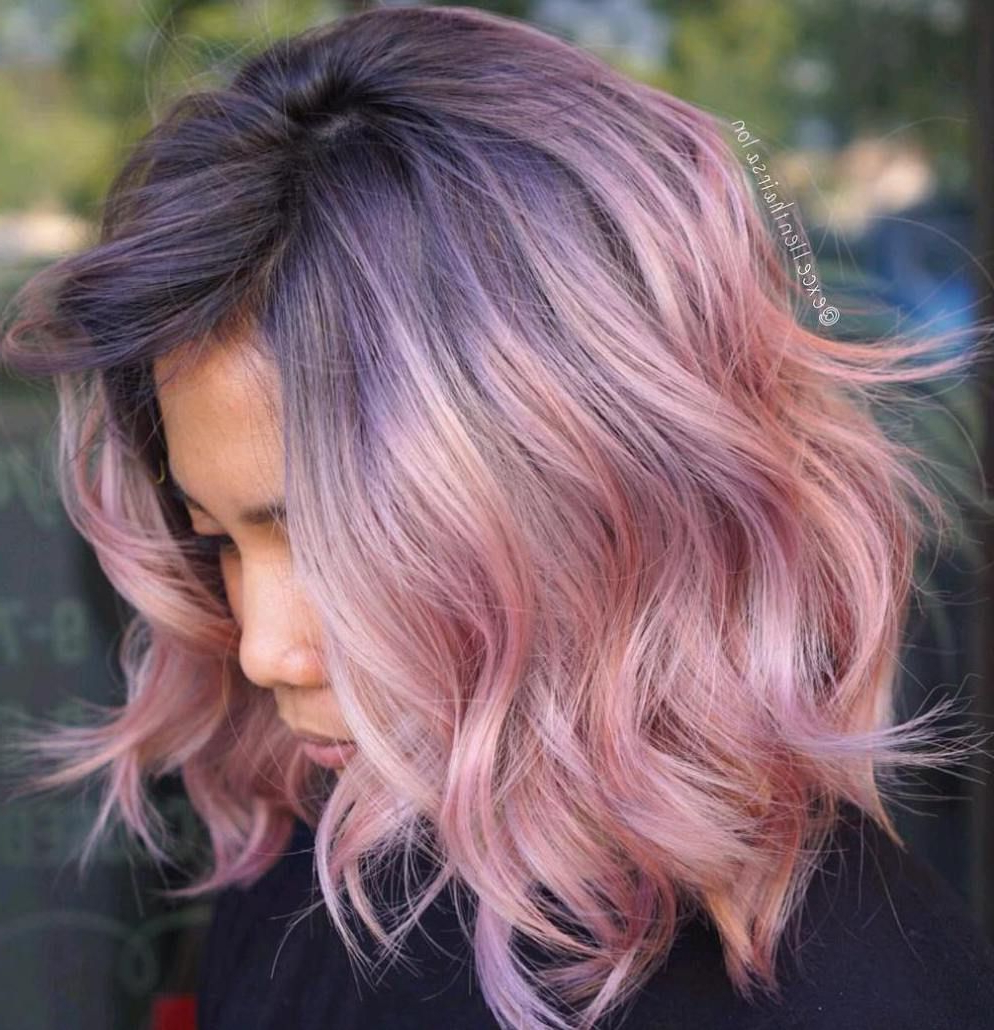 Pinterest Intended For Fashionable Pink Medium Hairstyles (View 15 of 20)