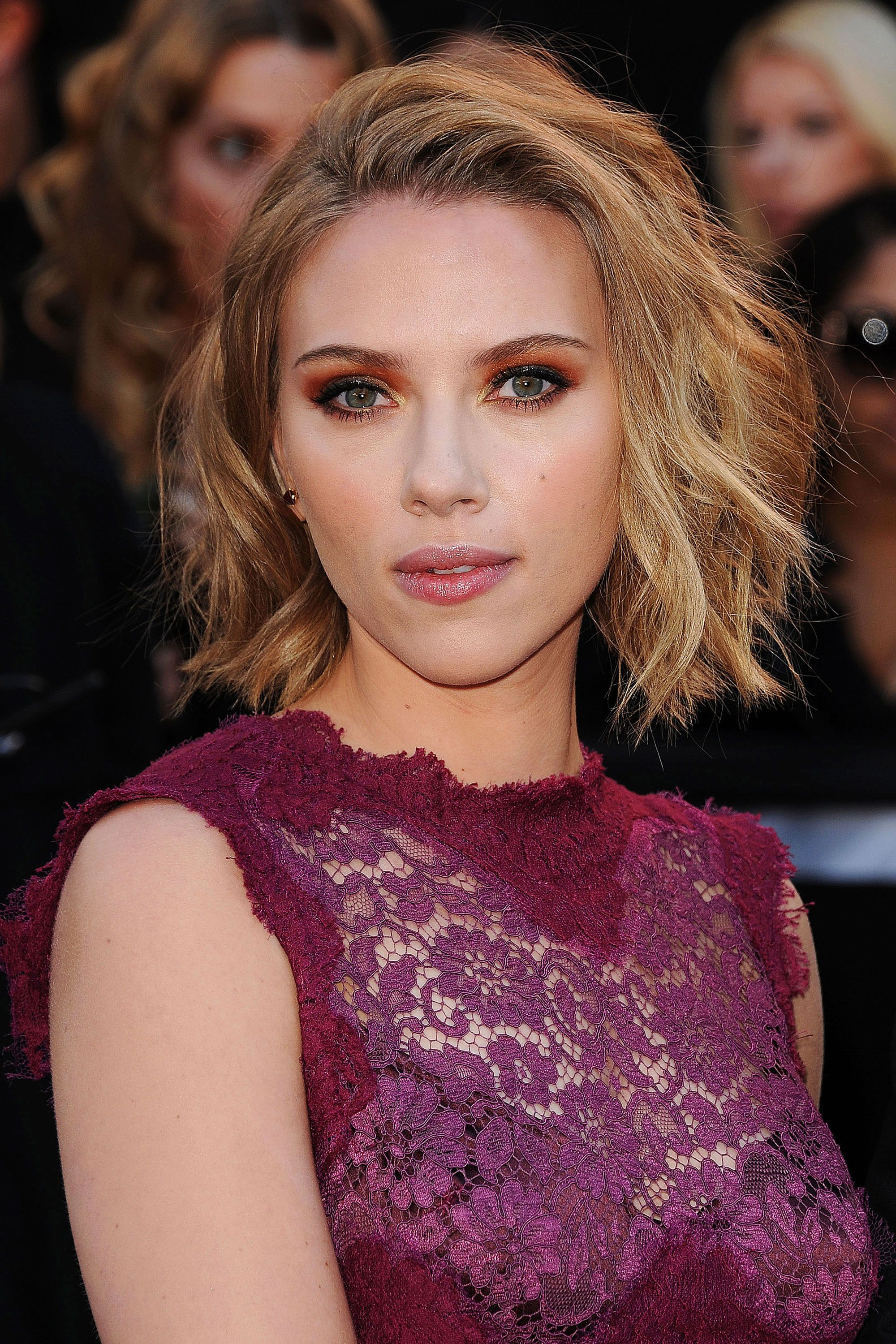 Pinterest Intended For Most Recent Scarlett Johansson Medium Haircuts (View 8 of 20)