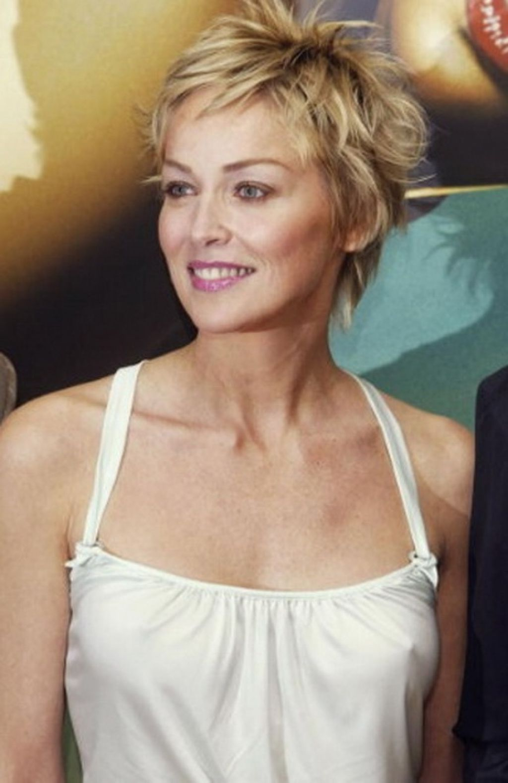 Pinterest With Regard To Most Up To Date Sharon Stone Medium Haircuts (View 12 of 20)