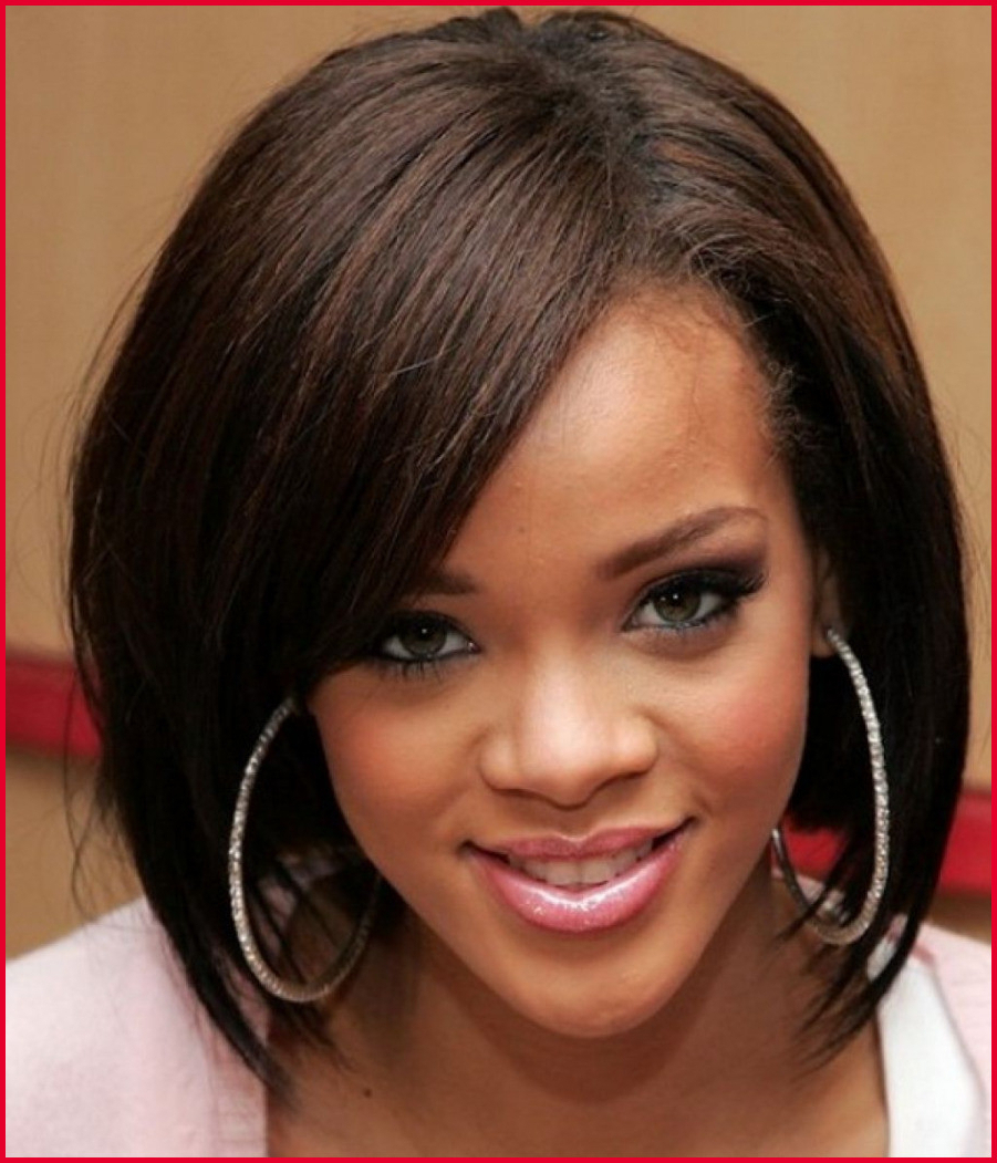 Popular Bob Medium Hairstyles For Black Women Regarding Medium Hairstyles On Black Women Best Medium Wavy Weave Hairstyle (View 17 of 20)