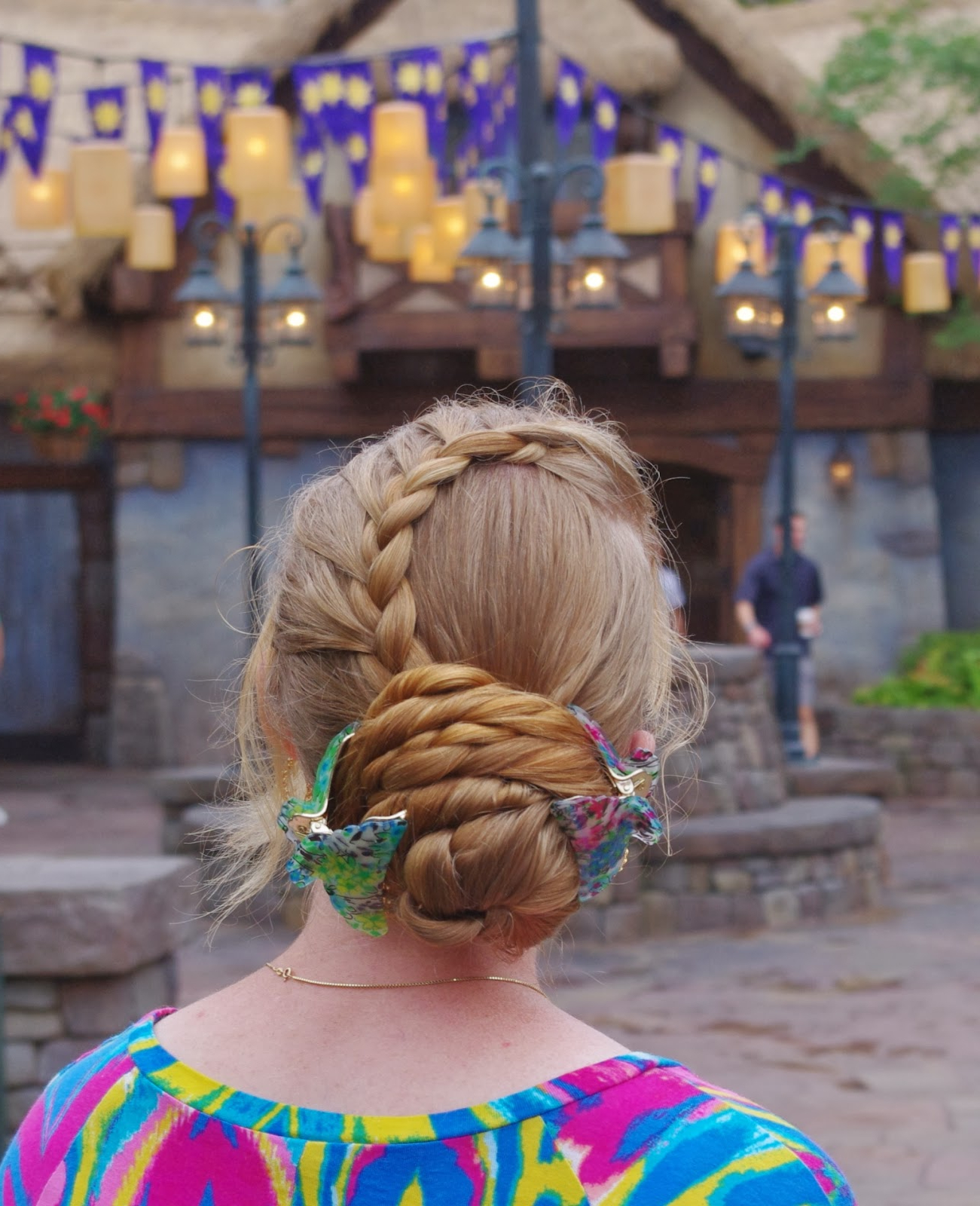 Popular Braided Tower Mohawk Hairstyles With Hairstyles Master: Favorite Hairstyle~ Swoop Braid W/ Layered Bun (View 18 of 20)