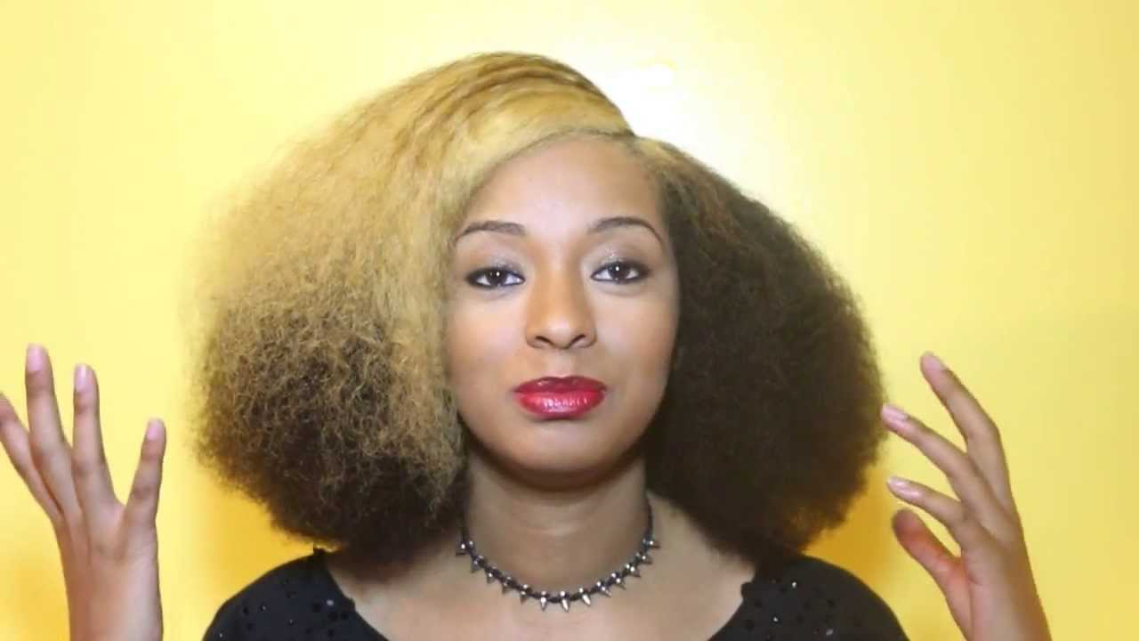 Popular Medium Haircuts For Natural Hair Black Women Throughout 25 Afros And Blow Outs For Black Hair (View 15 of 20)