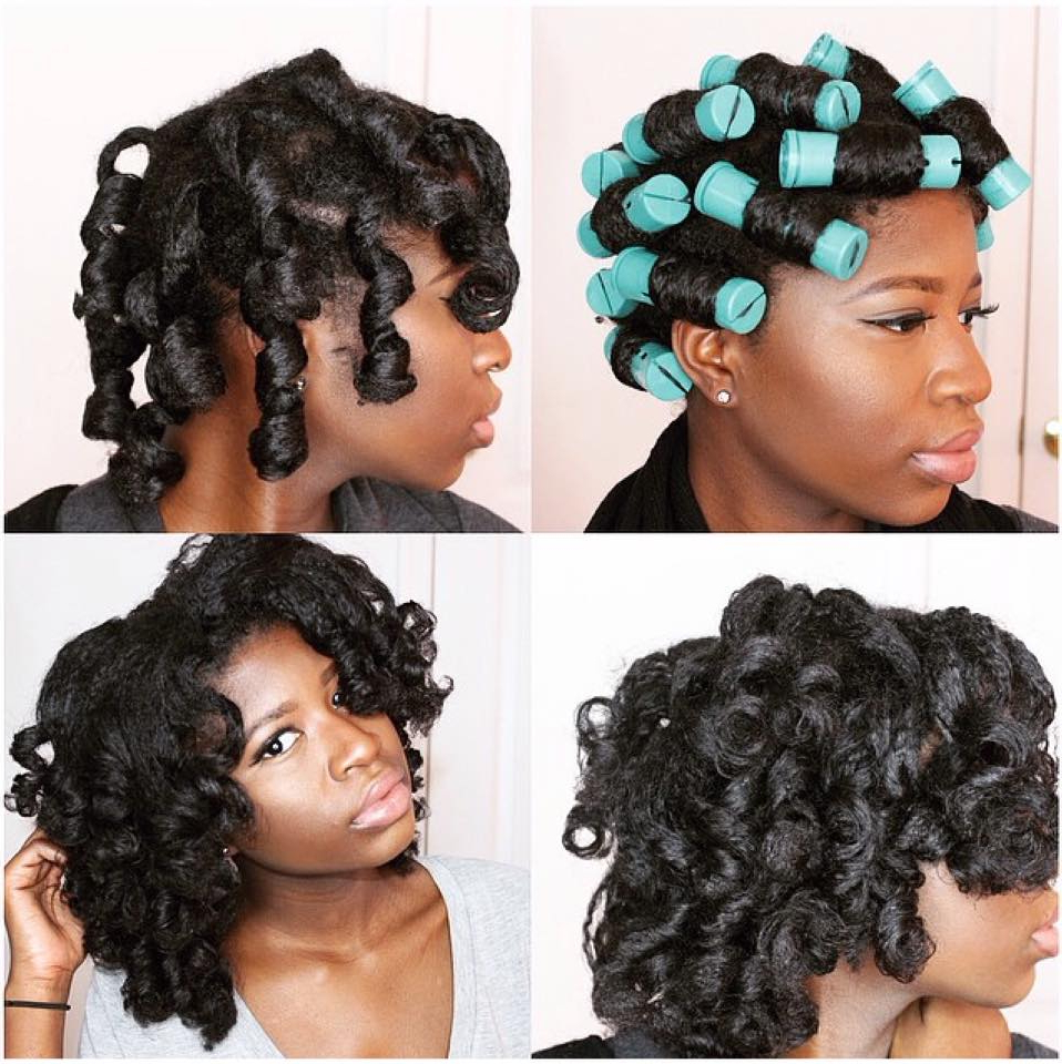 Popular Medium Haircuts For Relaxed Hair Regarding 5 Stunning Pictorials Of Perm Rod Styles – Bglh Marketplace (View 19 of 20)