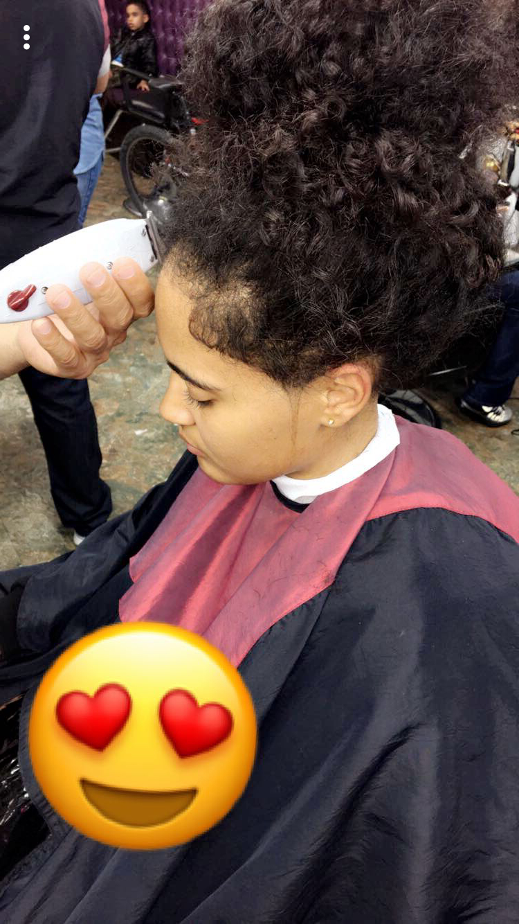 Popular Medium Haircuts For Studs Intended For Messy Buns, Woman With Curly Hair, Full Curls, Stud, Tomboy, Haircut (View 18 of 20)