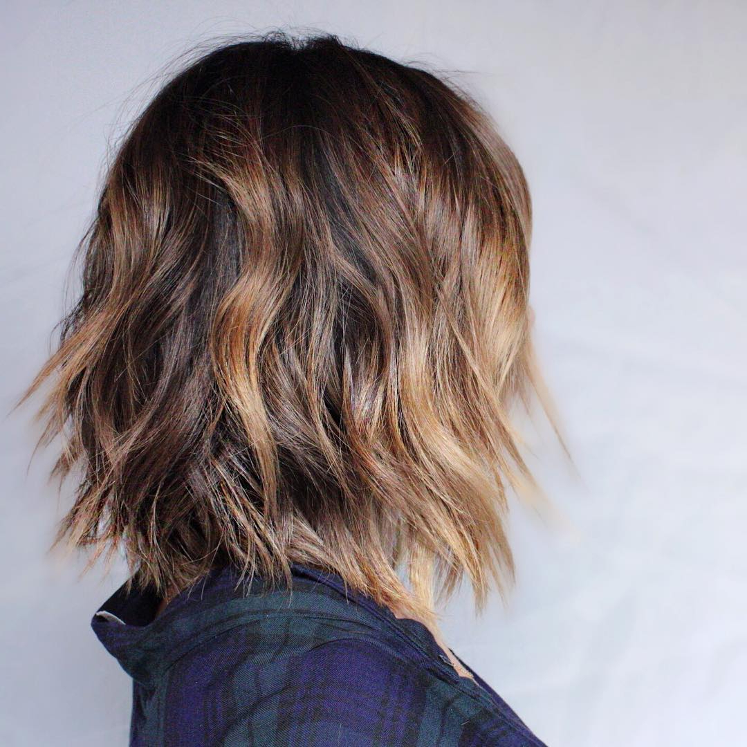 Popular Medium Haircuts For Thin Wavy Hair Throughout 10 Latest Medium Wavy Hair Styles For Women: Shoulder Length (View 11 of 20)