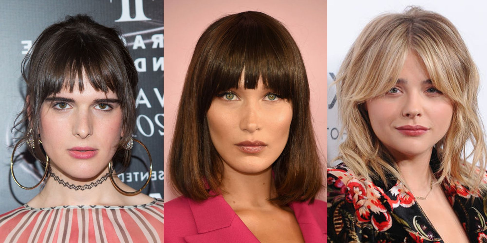 Popular Medium Haircuts With Fringe Bangs For Best Fringe Hairstyles For 2018 – How To Pull Off A Fringe Haircut (View 16 of 20)