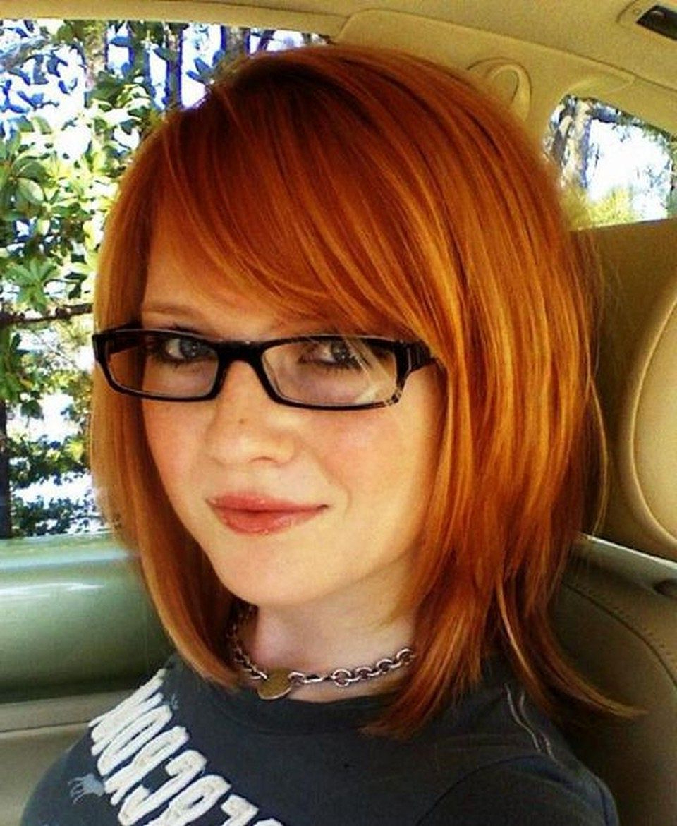 Popular Medium Haircuts With Glasses Within Best Medium Length Hairstyles For Thick Hair – Circletrest (View 17 of 20)