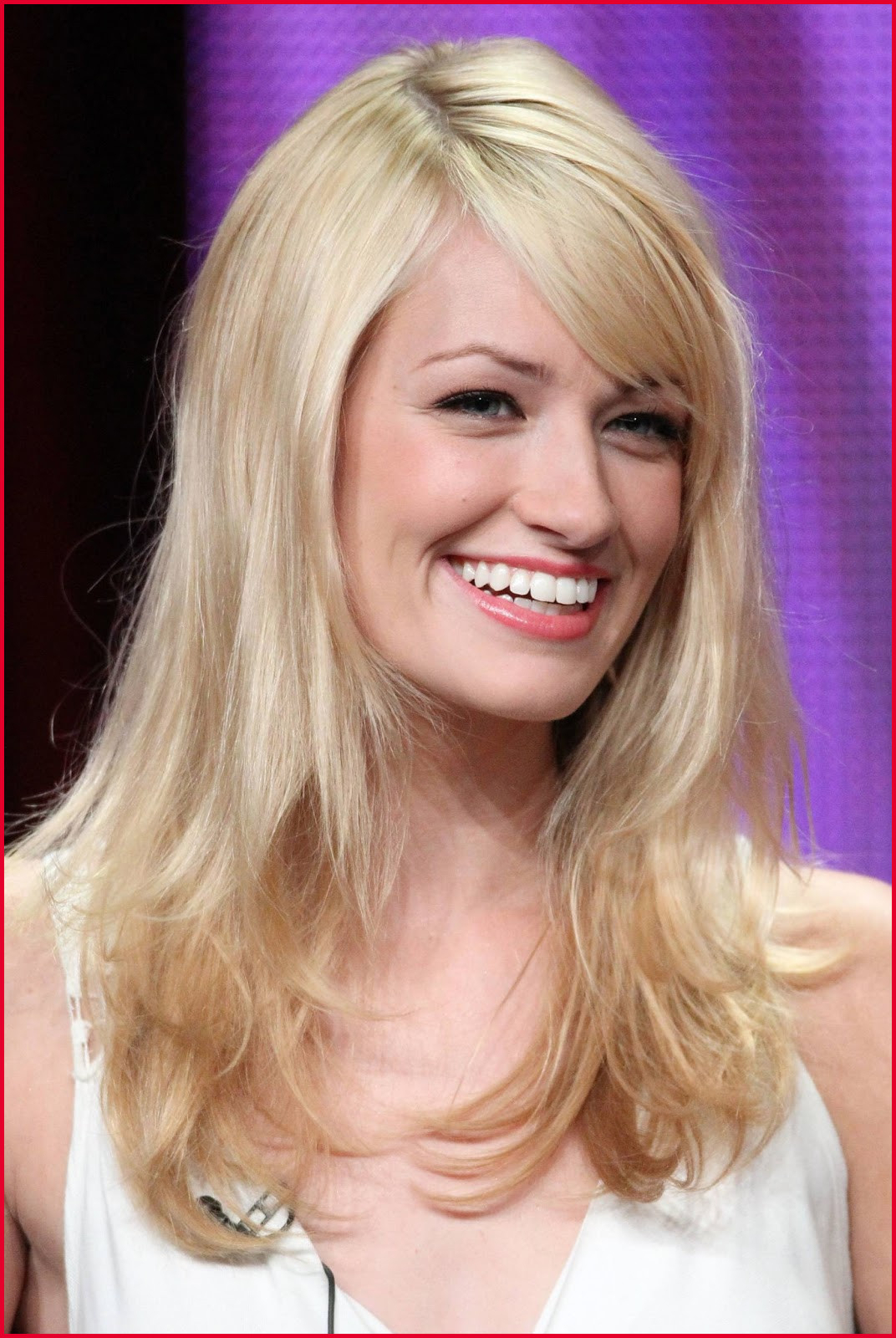 Featured Photo of Side Swept Bangs Medium Hairstyles