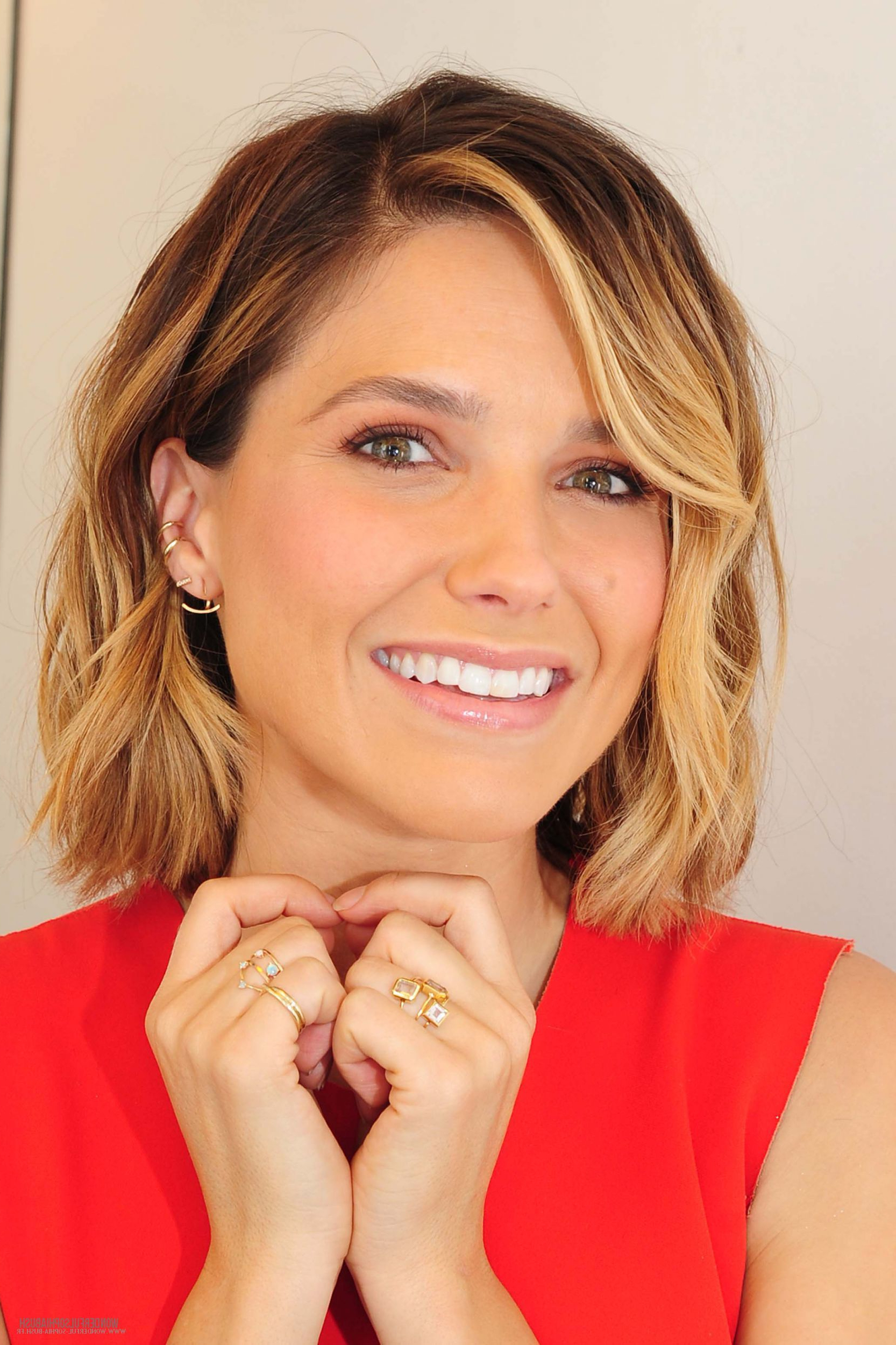 Popular Sophia Bush Medium Hairstyles With Sophia Bush Medium Hair Sophia Bush Nbc Studios 014 Cliquer Sur L (View 10 of 20)
