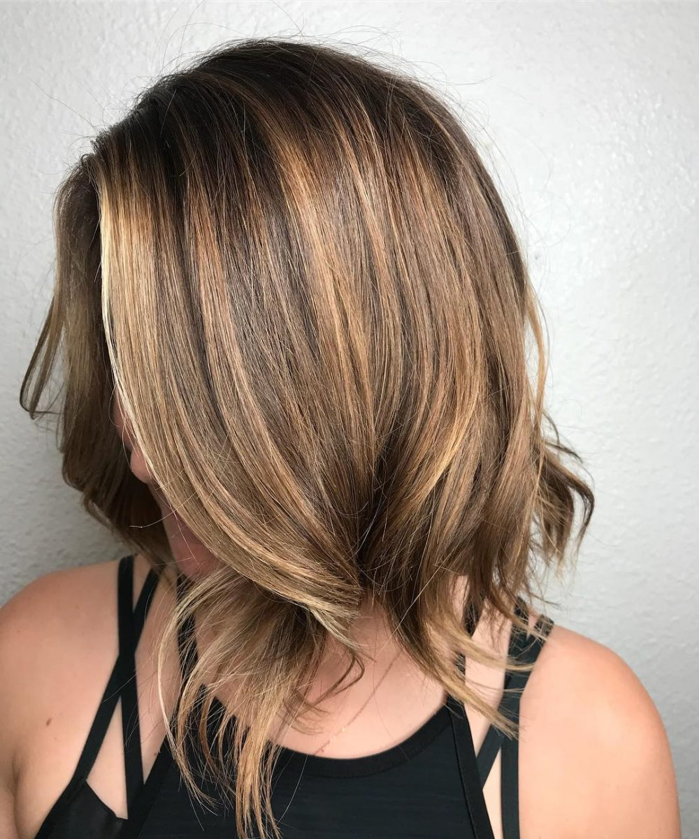Popular Uneven Layered Bob Hairstyles For Thick Hair Regarding 55 Perfect Hairstyles For Thick Hair (popular For 2019) (View 11 of 20)