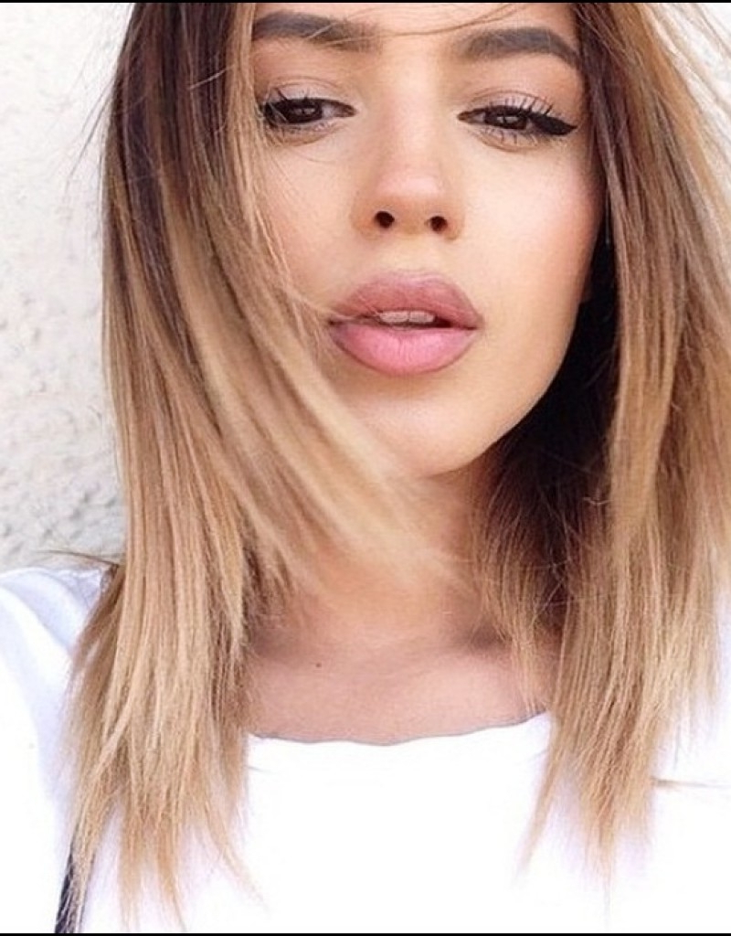 Preferred Medium Haircuts For Thick Hair With Bangs With Medium Hairstyle : Cute Medium Hairstyles For Thick Hairunixcode (View 18 of 20)