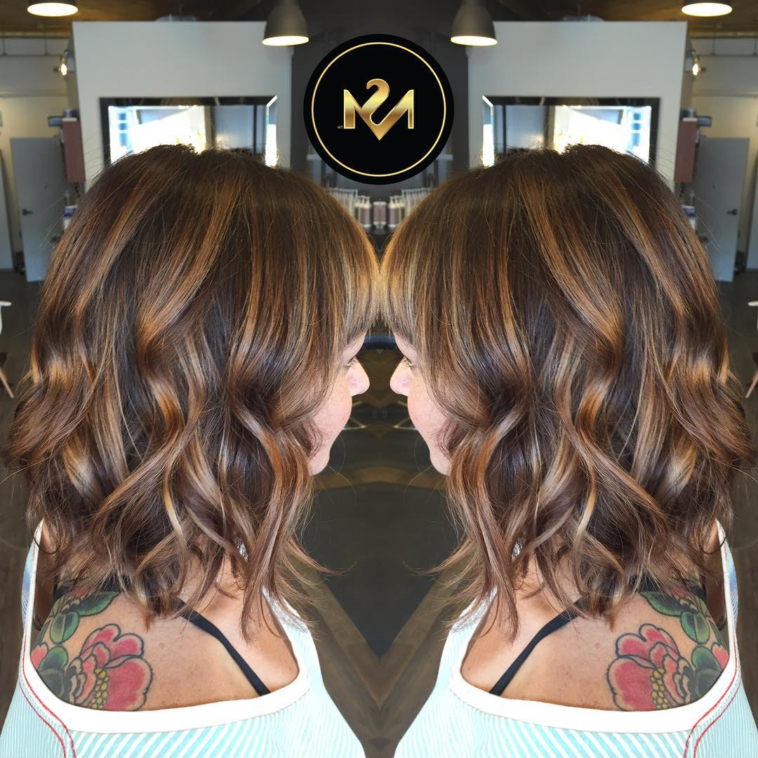 Preferred Medium Hairstyles With Balayage For 60 Hottest Balayage Hair Color Ideas 2019 – Balayage Hairstyles For (View 13 of 20)