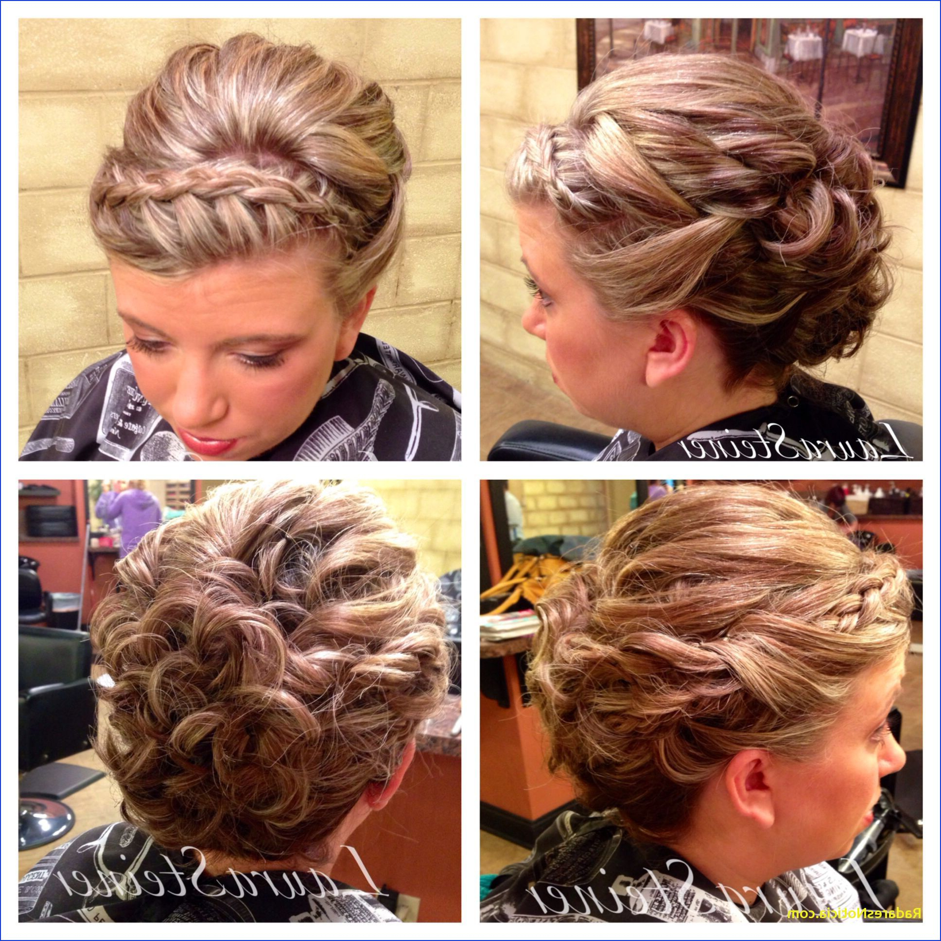 Preferred Medium Hairstyles With Headband With Regard To Braided Headband Hairstyles Wedding Hairstyles Medium Hair Awesome (View 17 of 20)