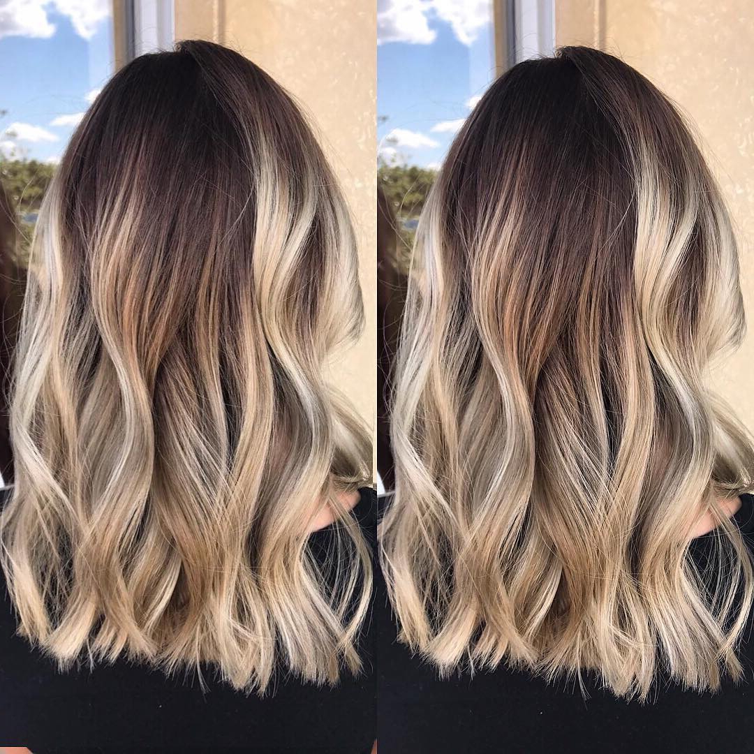 Preferred Mid Length Two Tier Haircuts For Thick Hair Within 10 Best Medium Layered Hairstyles 2019 – Brown & Ash Blonde Fashion (View 17 of 20)