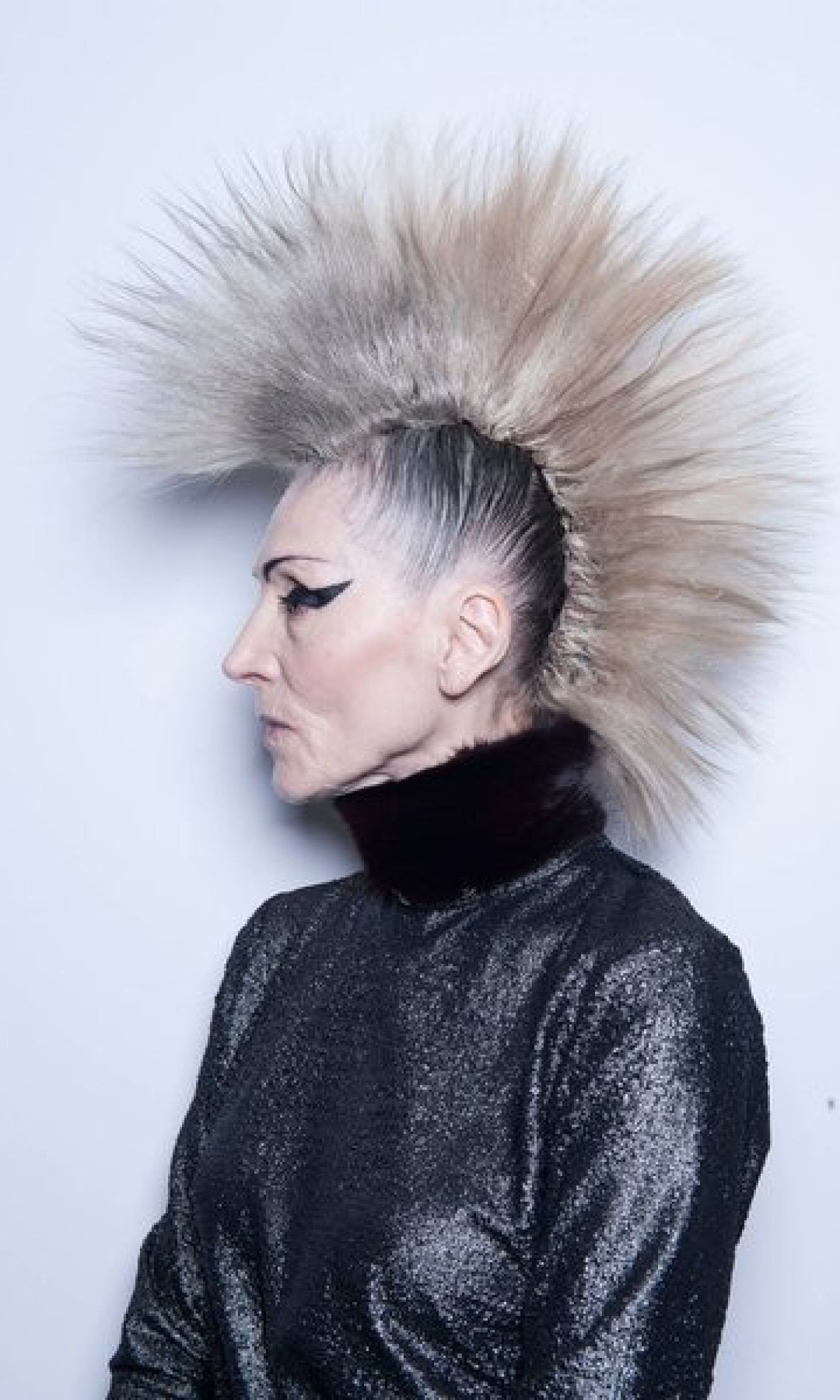 Preferred Silvery White Mohawk Hairstyles Regarding Lord (View 16 of 20)