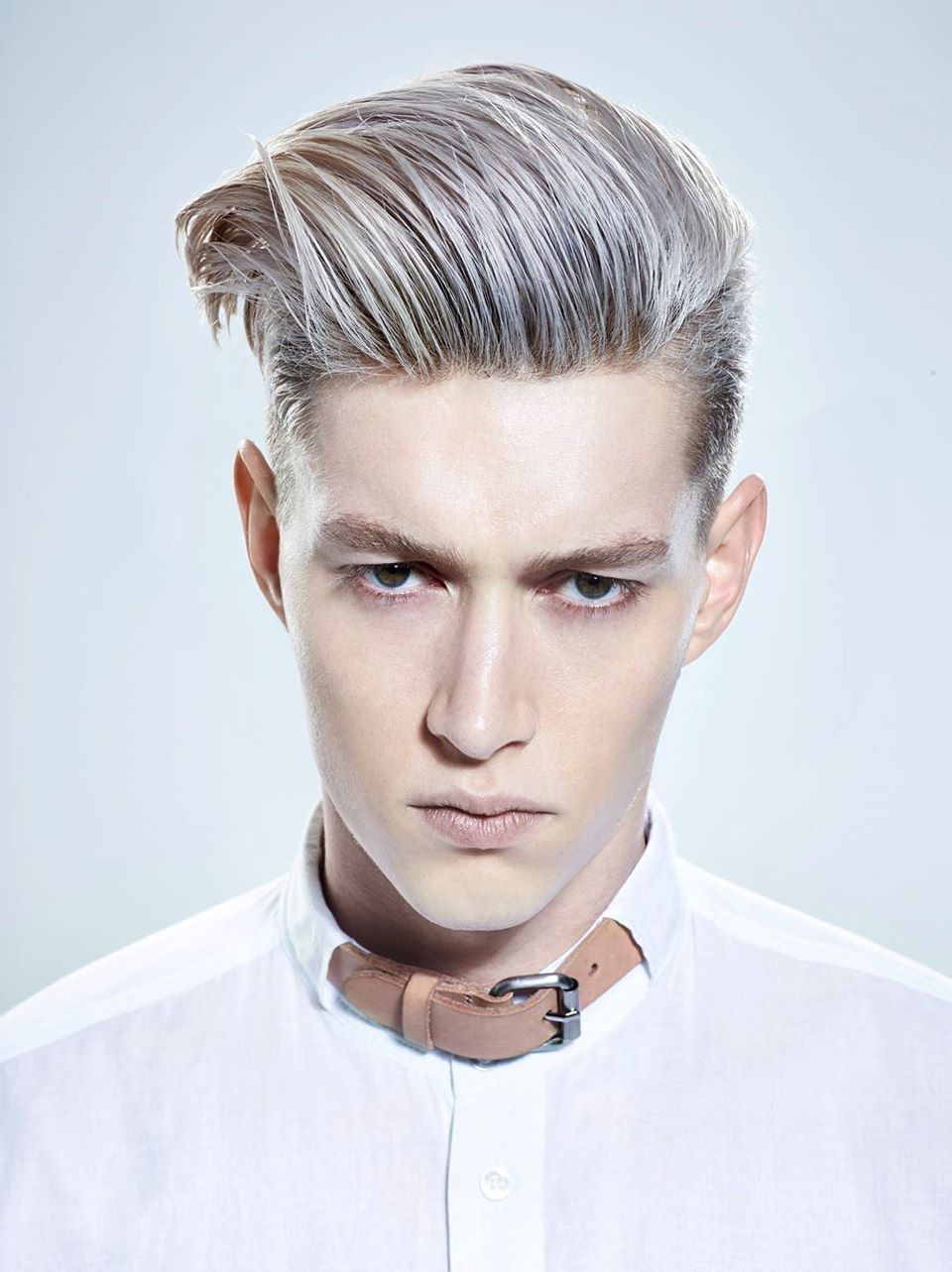 Preferred Silvery White Mohawk Hairstyles Throughout New Grey Men's Look (View 17 of 20)