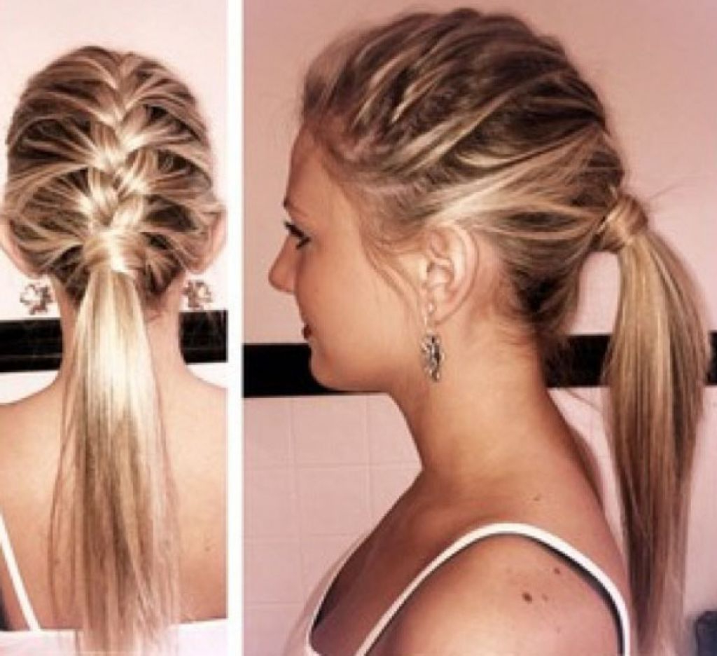 Preferred Summer Medium Hairstyles Within Medium Hairstyle : Simple Cute Hairstyles New For Shortmedium Hair (View 14 of 20)