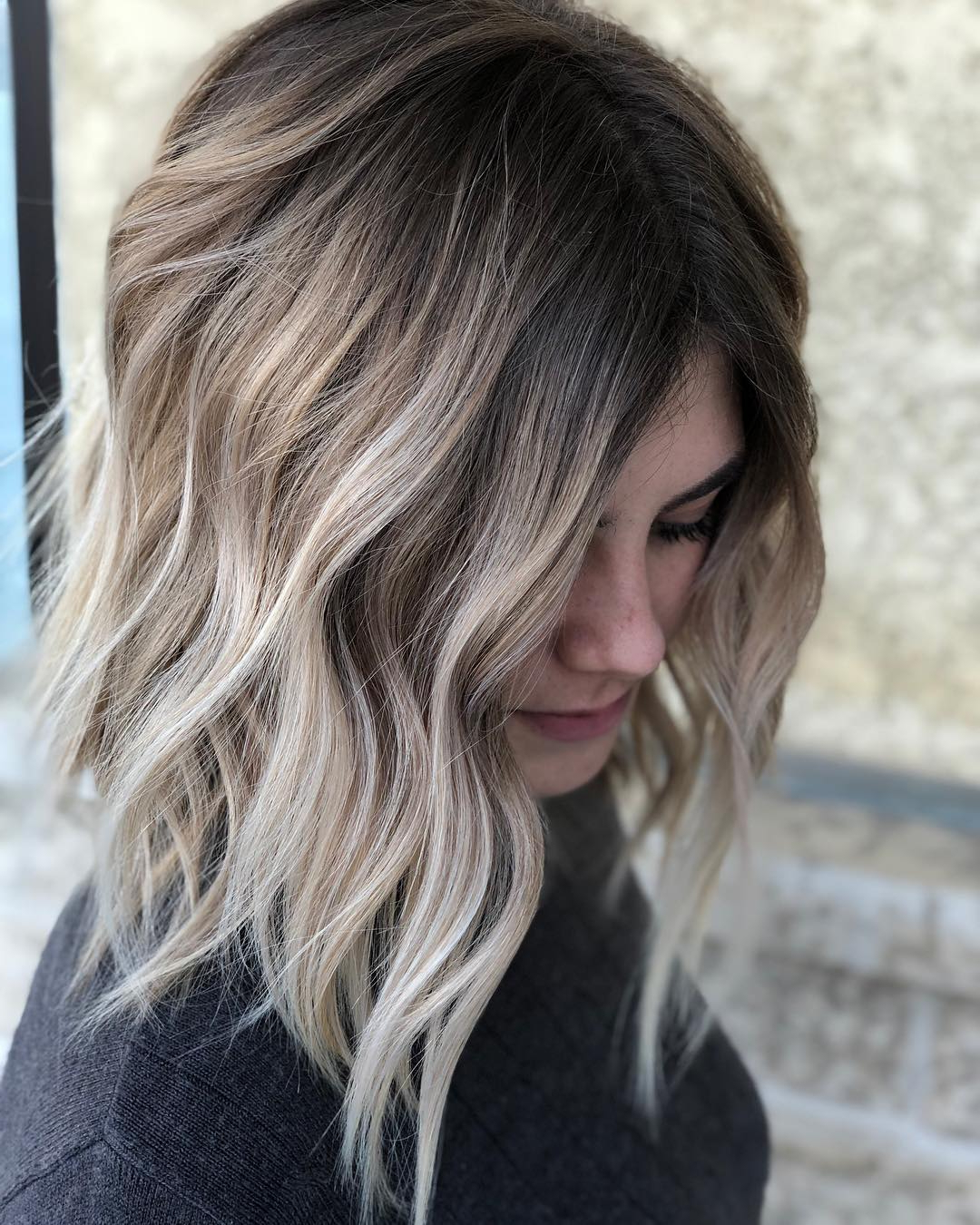Pretty Balayage Ombre Hair Styles For Shoulder Length Hair, Medium With Famous Ombre Medium Hairstyles (View 6 of 20)