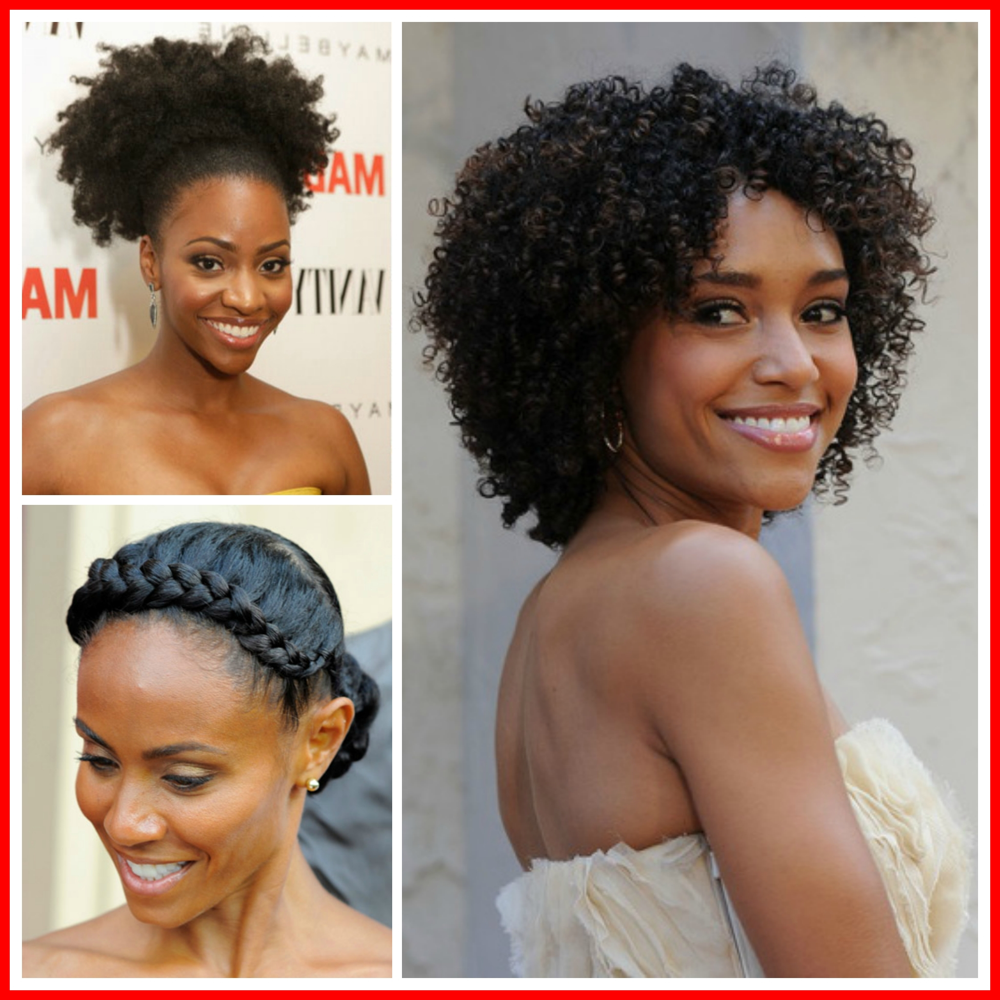 Prom Hairstyles For Relaxed Hair Prom Hairstyles For Natural Hair With Regard To Most Up To Date Medium Haircuts For Relaxed Hair (View 20 of 20)