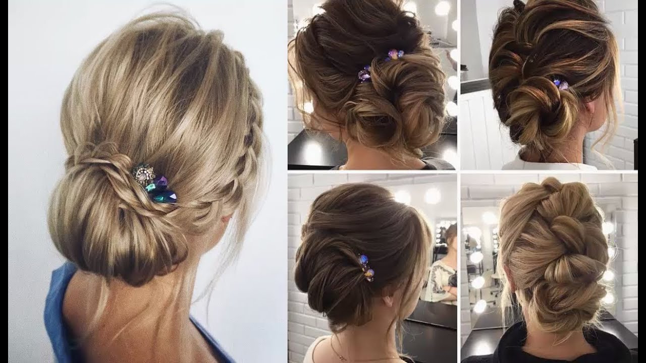 Prom Hairstyles For Short Hair Pertaining To Famous Medium Hairstyles For Prom (View 16 of 20)