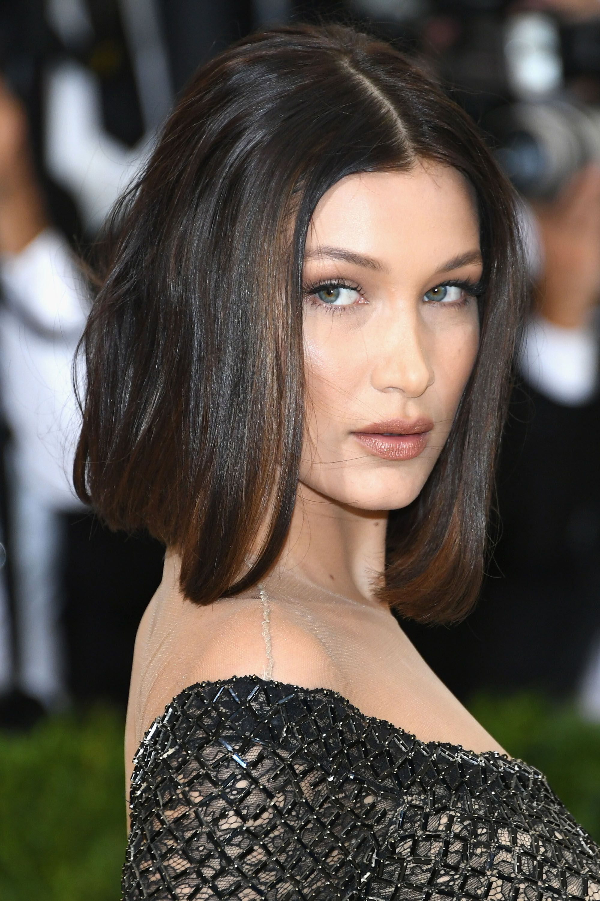 Recent Brunette Feathered Bob Hairstyles With Piece Y Bangs Regarding 39 Fringe Hair Cuts For 2019 – Women's Hairstyle Inspiration (Gallery 11 of 20)