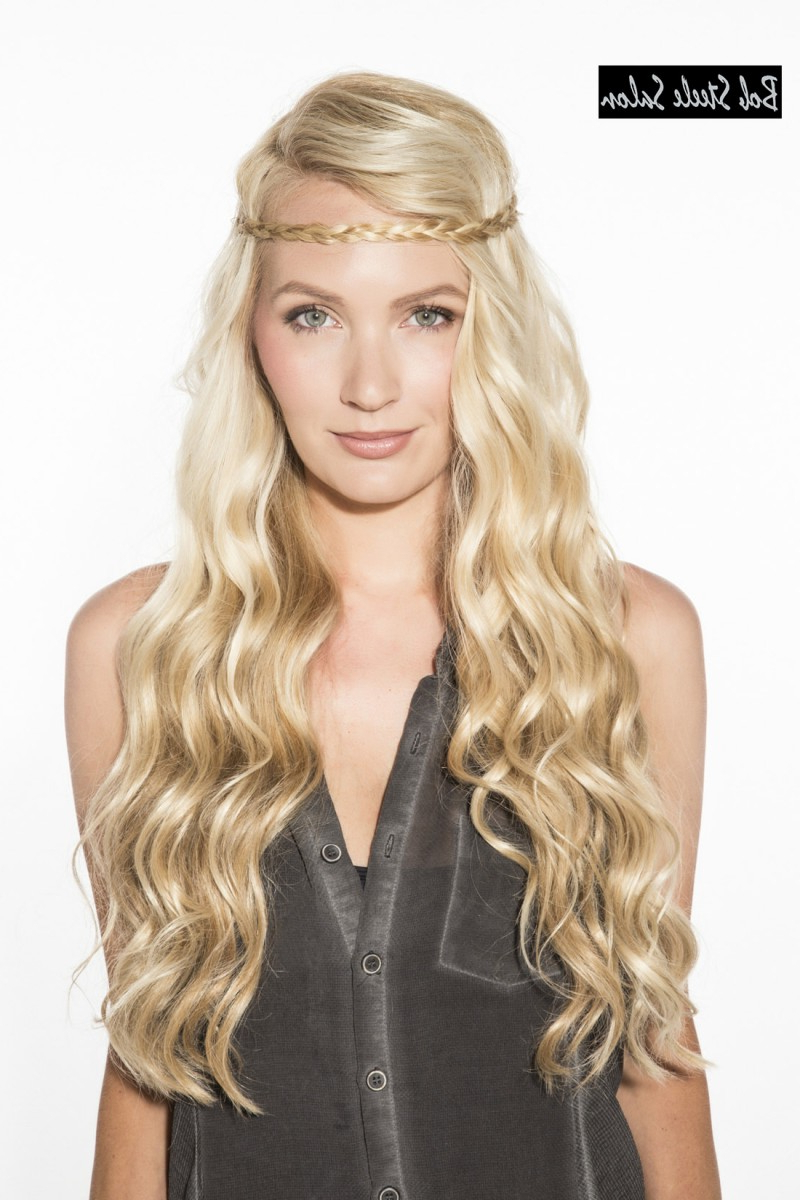 Recent Cute Medium Hairstyles With Headbands Pertaining To 20 Fabulous Layered Hairstyles For Long Hair (Gallery 12 of 20)
