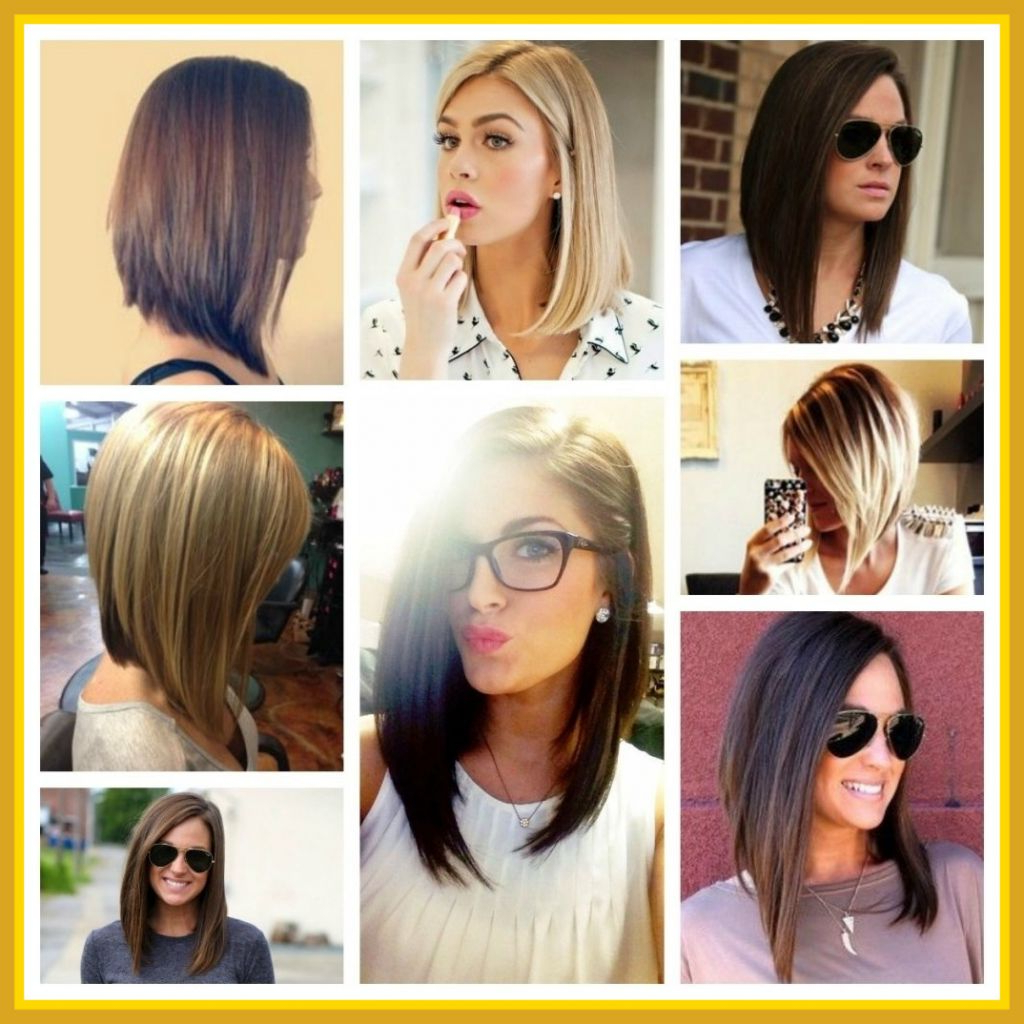 Recent Inverted Medium Haircuts With √ 24+ Beautiful Long Layered Bob Hairstyles: Best Long Inverted Bob (Gallery 13 of 20)