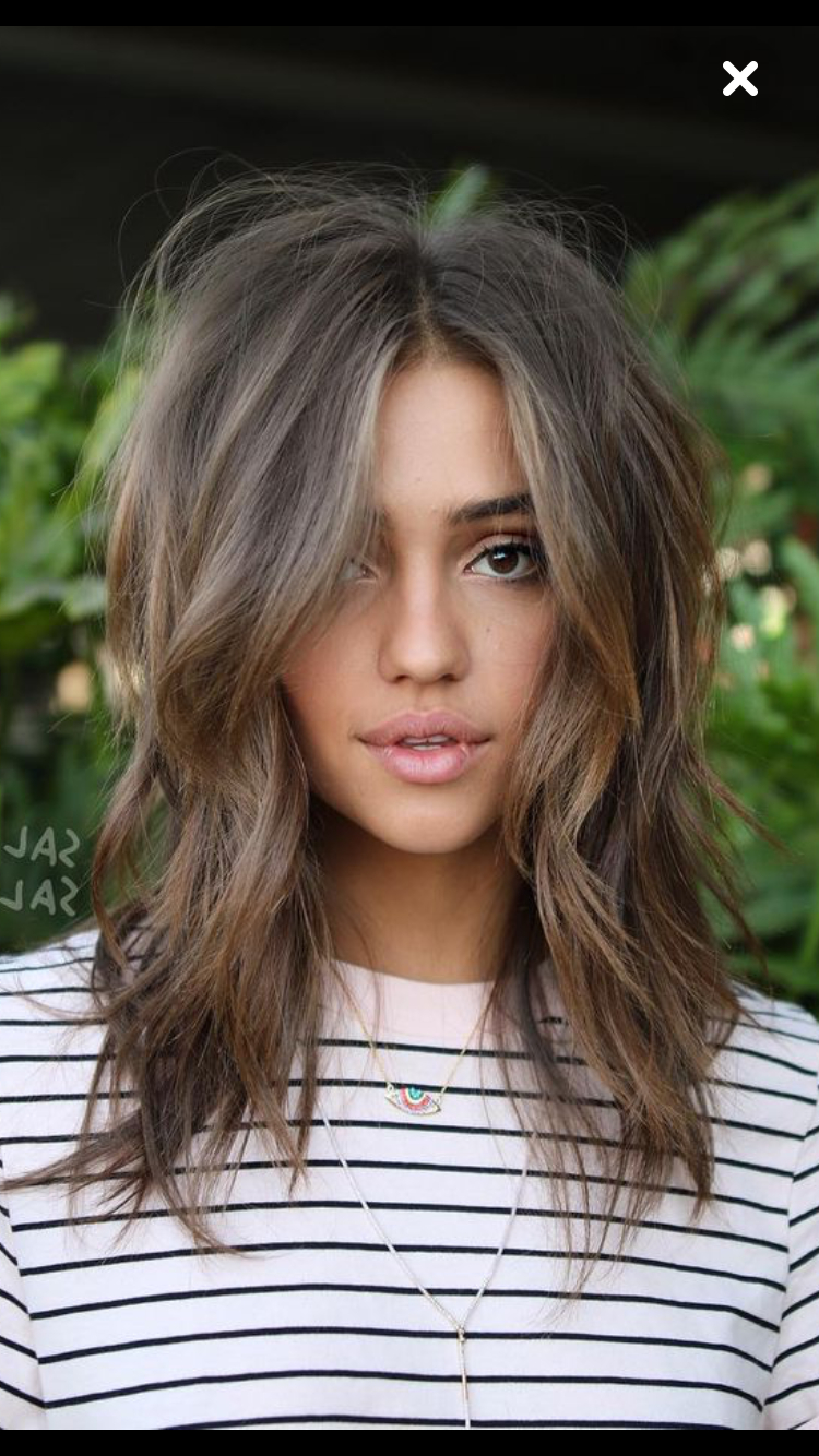 Recent Layered Wavy Lob Hairstyles Intended For Such A Gorgeous Haircut! Long Hair, Wavy Hairstyle (View 13 of 20)