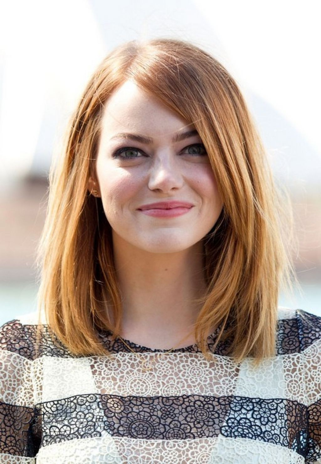 Recent Medium Haircuts Ideas For Round Faces Throughout Hair Cuts : Haircuts For Round Faces Women Medium Length And Fine (View 9 of 20)
