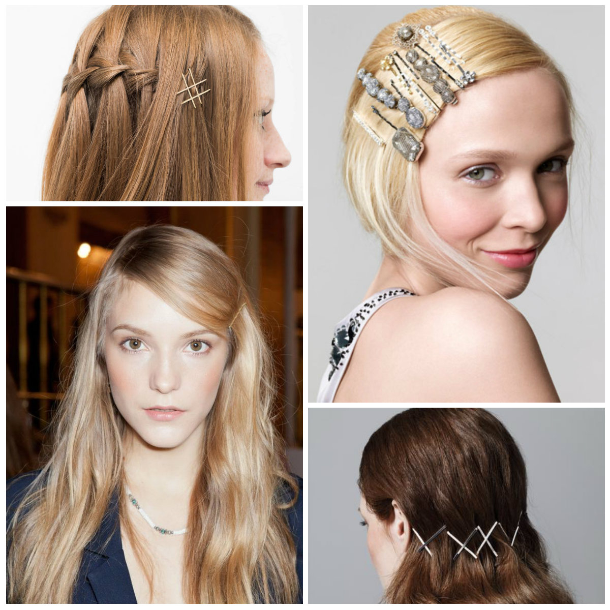 Recent Medium Hairstyles With Bobby Pins Regarding Easy To Do Hairstyle Ideas With Bobby Pins – Haircuts And Hairstyles (Gallery 1 of 20)